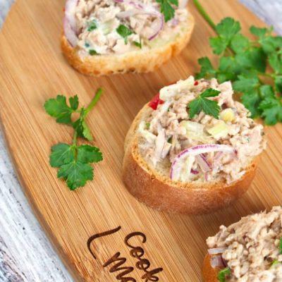 Classic Tuna Salad Recipe - Fancy Tuna Sandwich - Best Classic Tuna Salad With Eggs Recipe