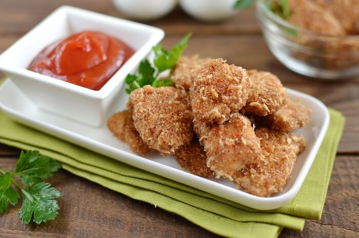 How to serve Baked Chicken Nuggets