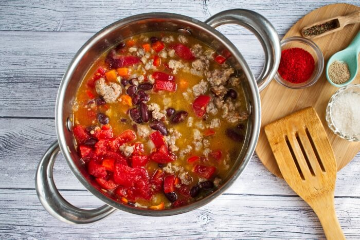 Homemade Beef Chili recipe - step 4