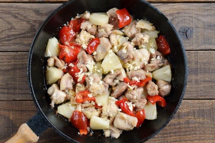 Chinese Pineapple Chicken recipe - step 3
