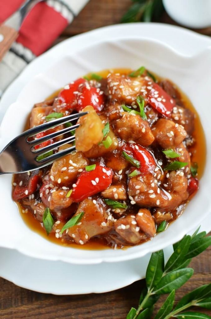 Perfect combination of sweet, sour and salty.