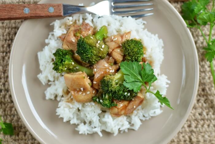 How to serve Chinese Stir-fry Chicken