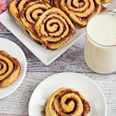 Cinnabun Cookies Recipe - Soft Chewy Cookies Recipe - Cinnamon Cookies
