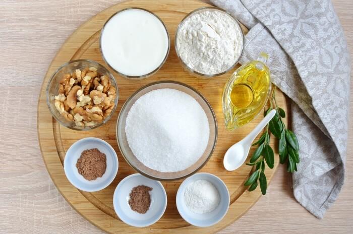 Ingridiens for Cinnamon Sour Milk Cake