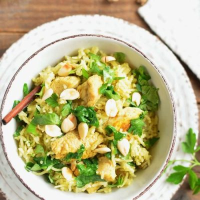 Classic Chicken Biryani Recipe - Eastern Cuisine Recipes - Indian Chicken Biryani Recipe