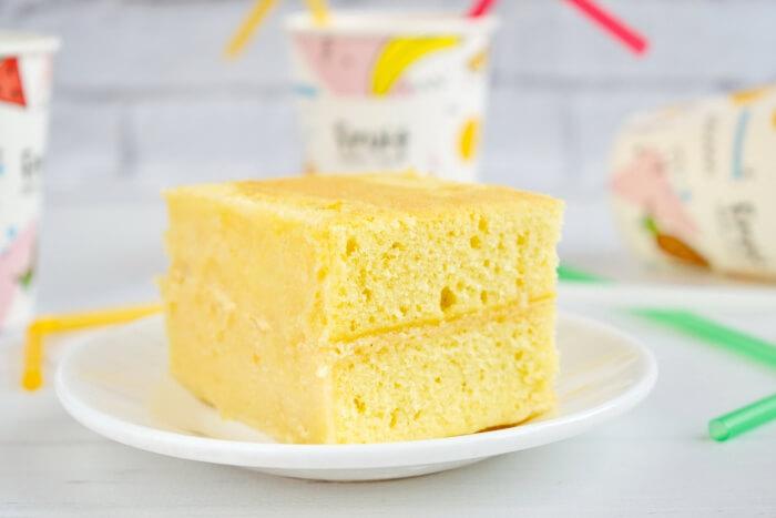 How to serve Classic Vanilla Cake