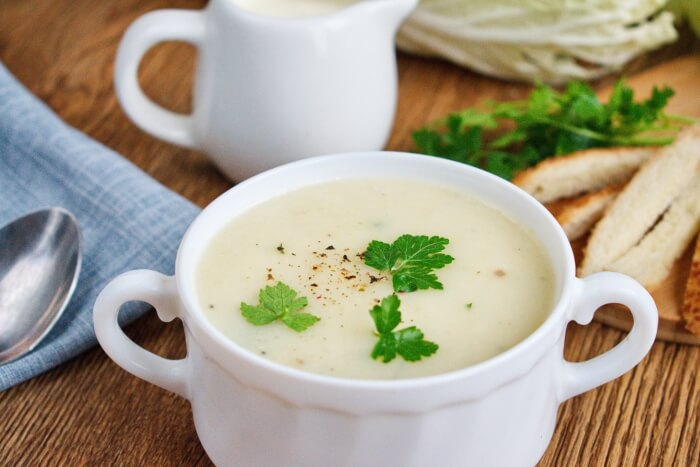 How to serve Creamy Potato Soup