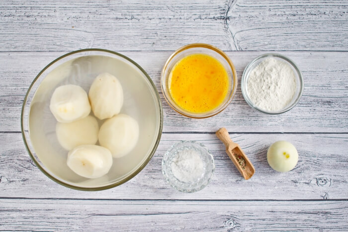 Crispy Potato Pancakes Recipe - Best Recipes with potato - Tasty Potato Pancakes