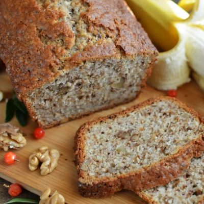 Easy Banana Loaf Recipe - Quick Banana Bread Recipe - Award Winning Banana Bread Recipe