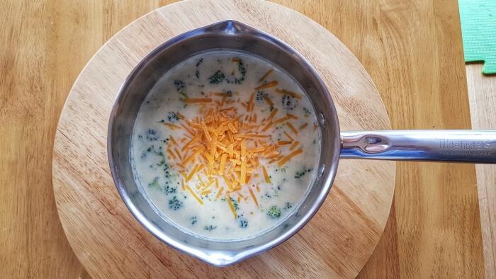 Keto Broccoli Cheddar Soup recipe - step 3
