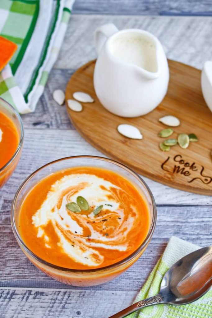 Easy Pumpkin Soup Recipe - Classic Soups Recipes - Best Pumpkin Soup Recipe Ever