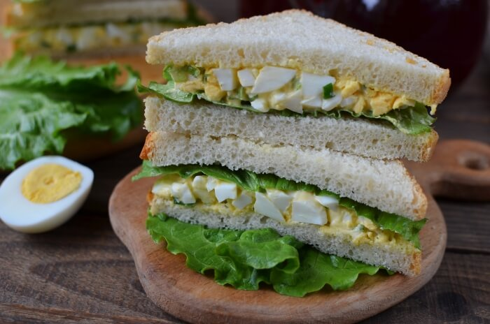 How to serve Egg Mayo Sandwich