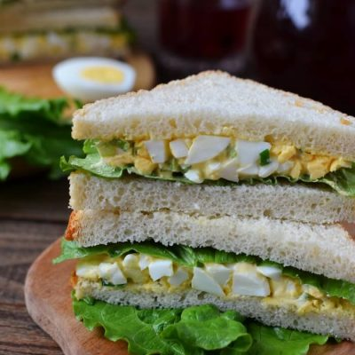 Egg Mayo Sandwich Recipe - Easy Ckassic Lunch Ideas - Egg Mayo Sandwich for Breakfast