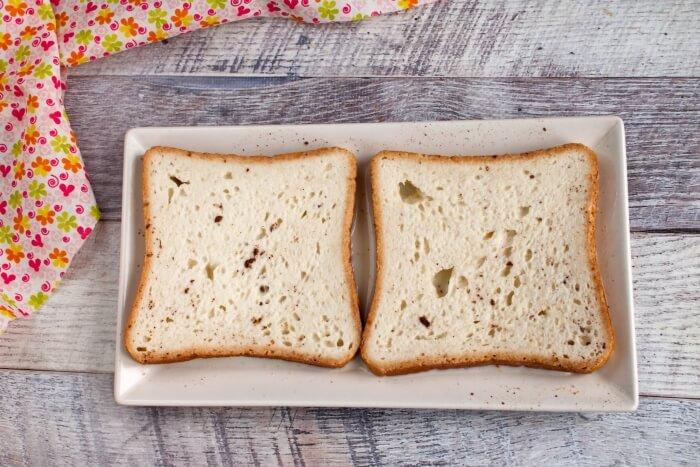 Eggless French Toast recipe - step 2