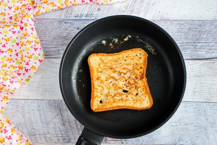 Eggless French Toast recipe - step 4