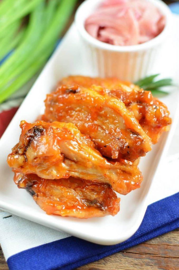 Easy recipe for frozen wings