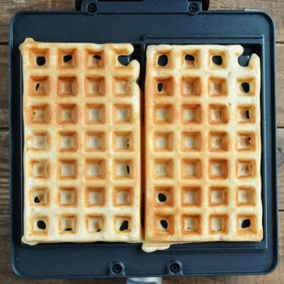 Cinnamon French Toast Waffles recipe - step 4