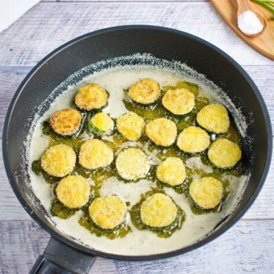 Fried Cucumber Rounds recipe - step 3