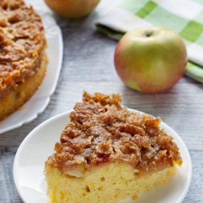 German Apple Kuchen Recipe - Authentic German Pies Recipes - German Apple Cake Versunkener Apfelkuchen