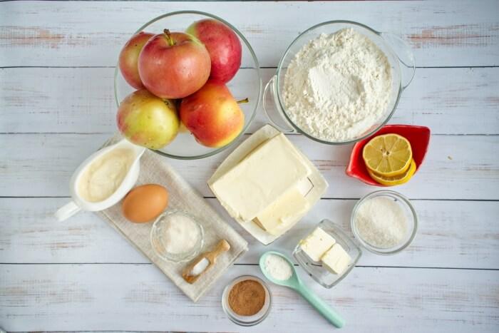 Ingridiens for Easy Apple Galette