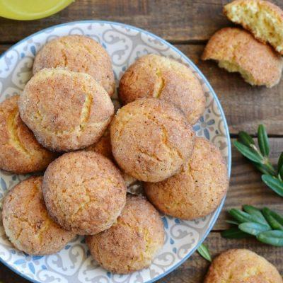 Homemade Snickerdoodle Cookies Recipe - Grandma's Recipes - Chewy Snickerdoodle Cookies Recipe
