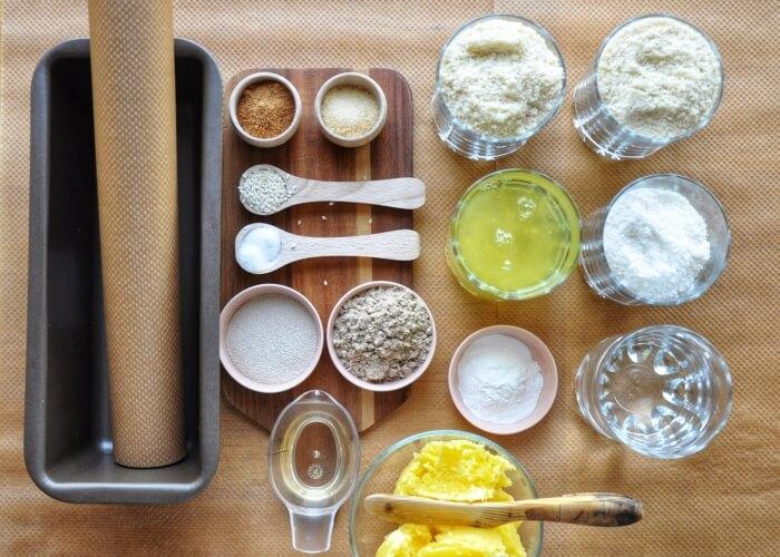 Ingridiens for Easy Keto Bread
