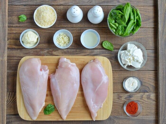 Keto Spinach Stuffed Chicken Recipe - Keto Spinach Bites Recipe - Keto Recipes With Spinach