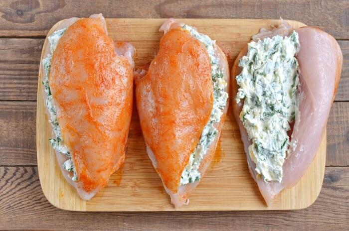 Keto Spinach Stuffed Chicken recipe - step 5