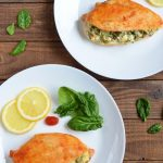 Keto Spinach Stuffed Chicken