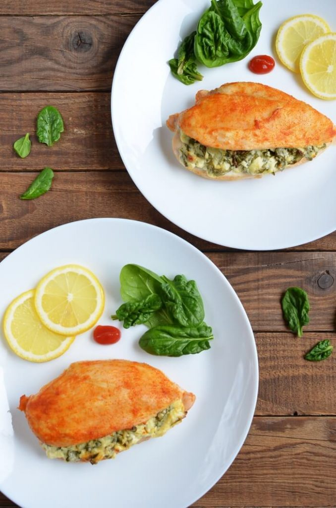 Low-carb, deliciously cheesy chicken dish!
