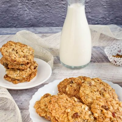 Oaty Raisin Cookies Recipe - Healthy Oatmeal Cookies Recipes - Healthy Oat and Raisin Cookies Recipe