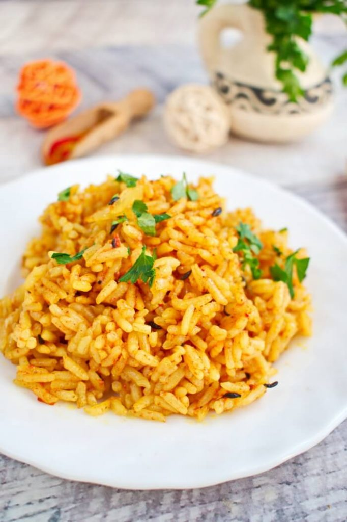 Quick and easy rice recipe loaded with spices