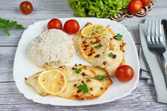 How to serve Keto Oven Baked Tilapia
