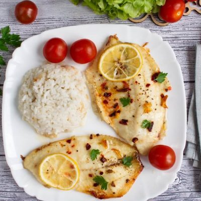 Oven Baked Tilapia Recipe - Healthy Low-Carb Keto Recipe - Healthy Oven Baked Tilapia