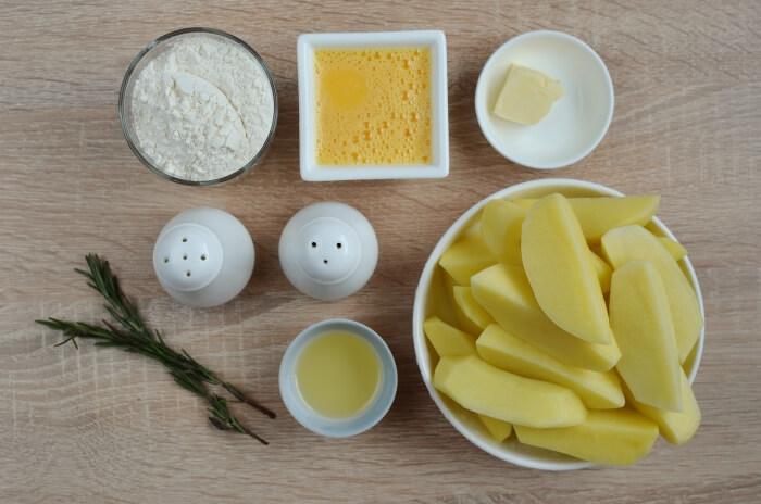 Ingridiens for Pan-Fried Potato Gnocchi