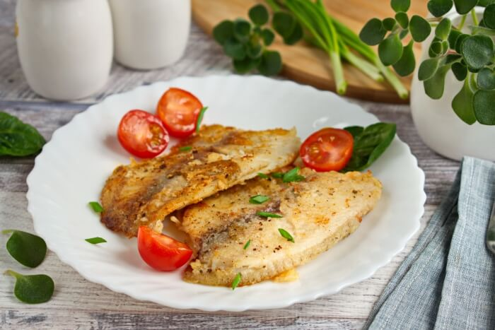 How to serve Pan-Fried Tilapia Fillets