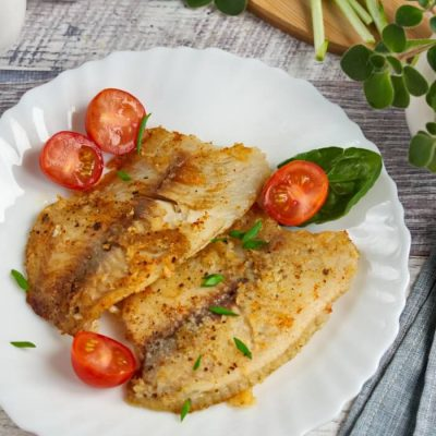 Pan-Fried Tilapia Fillets Recipe - Easy Crispy Fish Recipes for Begginers - Healthy Pan Fried Tilapia Recipes