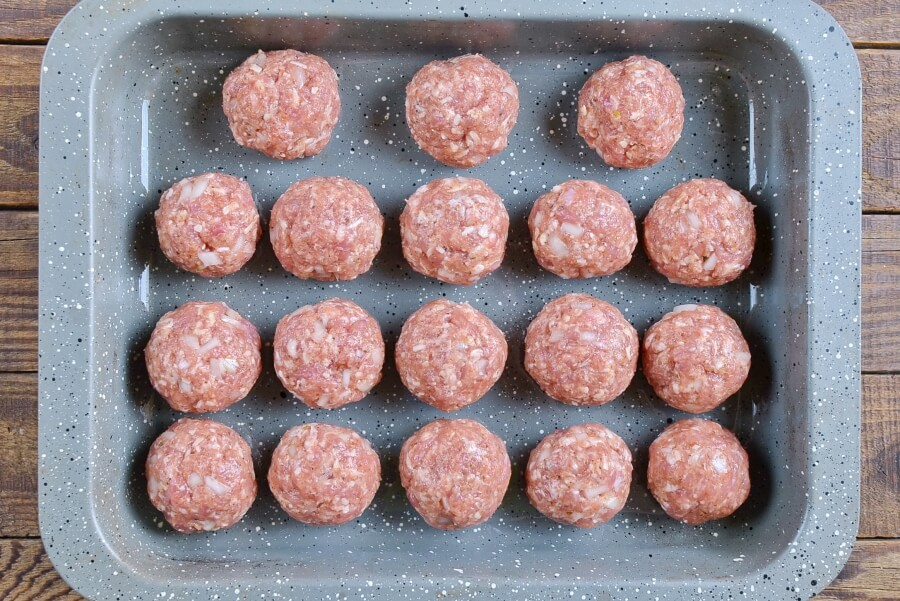 Perfect Eggless Meatballs recipe - step 3
