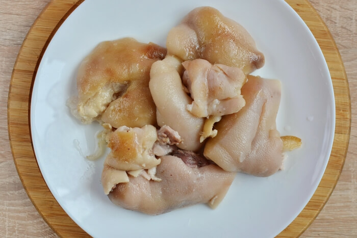 Pickled Pig's Trotters recipe - step 2