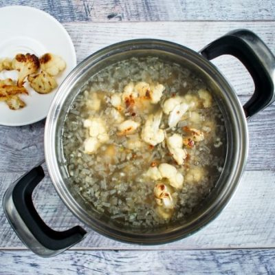 Roasted Cauliflower Soup recipe - step 4