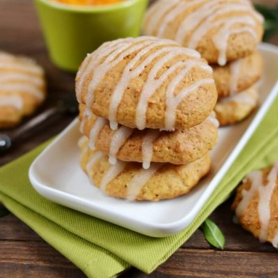 Soft Pumpkin Cookies Recipe - Homemade Pumpkin Cookies Recipe - Chewy Pumpkin Cookies