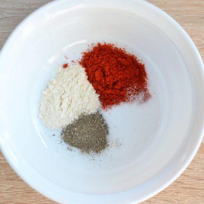 Keto Spiced Baked Pork Chops recipe - step 2