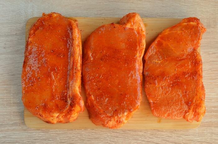 Keto Spiced Baked Pork Chops recipe - step 3