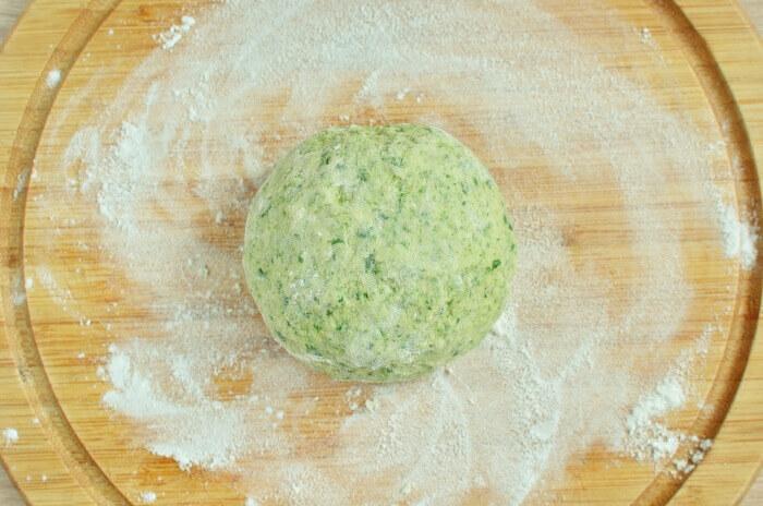 Homemade Spinach Noodles recipe - step 4