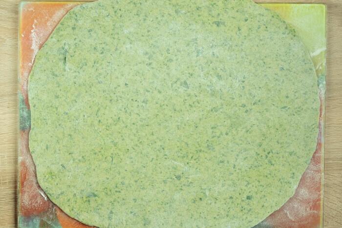 Homemade Spinach Noodles recipe - step 5