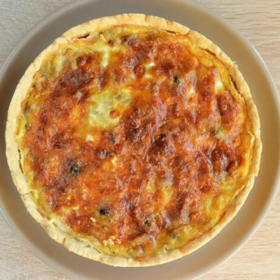 Spinach and Cheese Quiche recipe - step 7