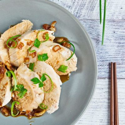 Steamed Asian Chicken Recipe - Chinese Style Chicken Recipes - How to Steam Chicken in a Pan