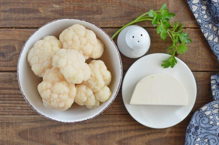 Ingridiens for Cauliflower Mash Keto