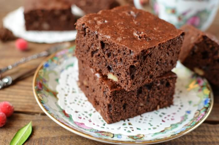 How to serve Super Simple Brownies