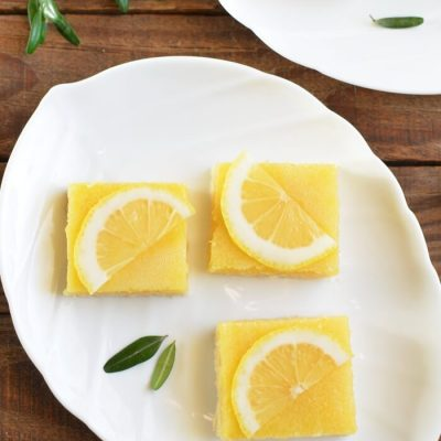 Tangy Lemon Squares Recipe - Sweet Snacks for a Party Recipes - Perfect Lemon Bars for a Crowd Recipe